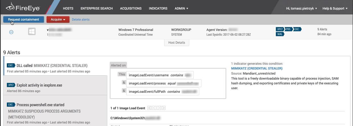Обзор FireEye Endpoint Security (HX) — защита рабочих