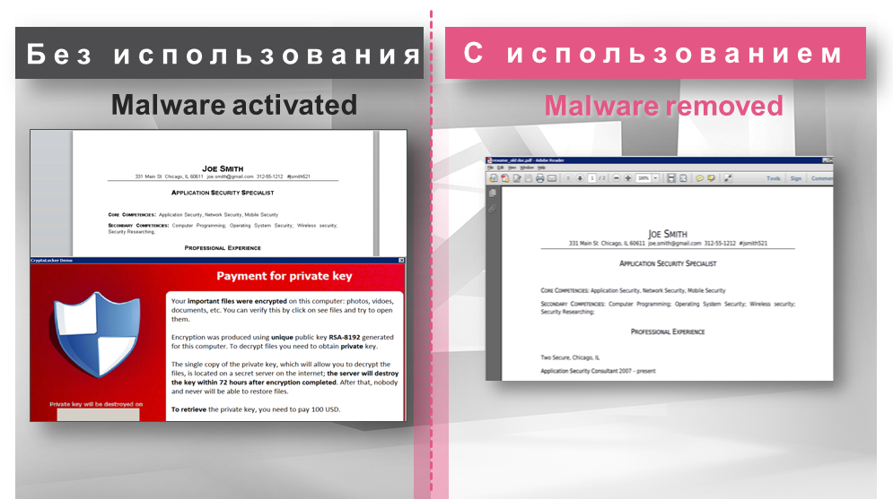 Check Point SandBlast Threat Extraction – проактивная защита