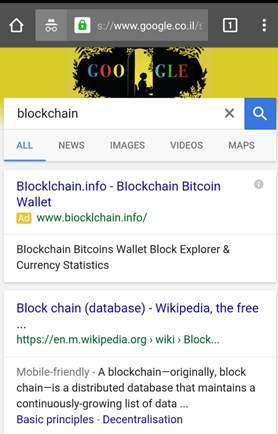 Ad-for-blockchain