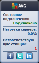 Гаджет AVG Remote Administration