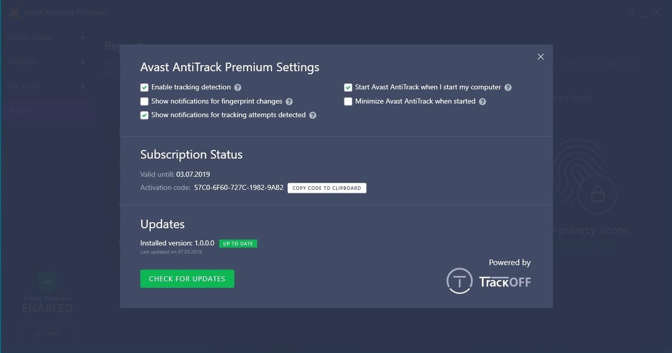 Обзор Avast AntiTrack Premium для конфиденциальности в интернете