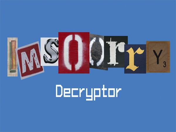 Emsisoft выпустила бесплатный дешифратор для Ims00rry