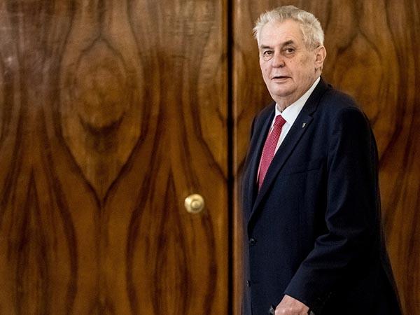 Компьютер чешского президента взломали хакеры из США