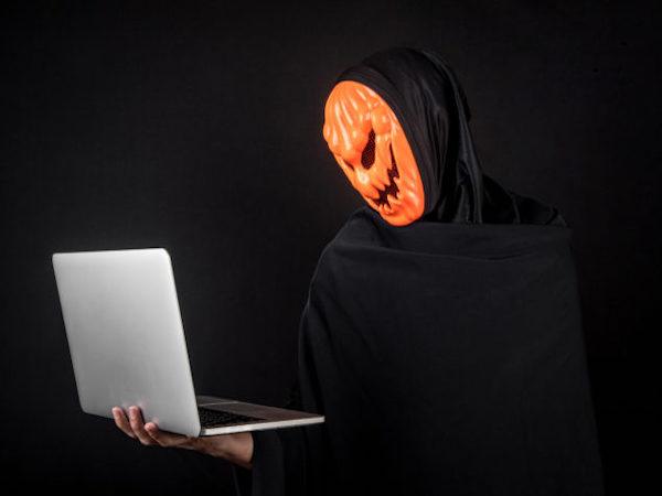 7 страшных фактов об интернете: инфографика на Хэллоуин
