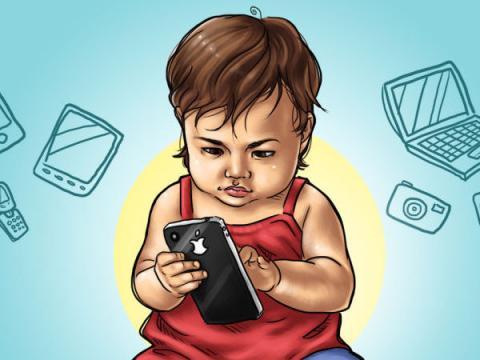 Российские социологи: Не стоит следить за детьми с помощью гаджетов