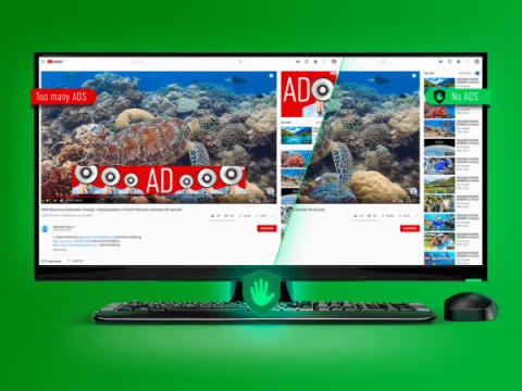 Блокировщик рекламы для Chrome и Opera вставляет рекламу в поисковую выдачу