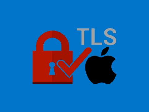 Apple откажется от поддержки старых версий TLS в iOS и macOS