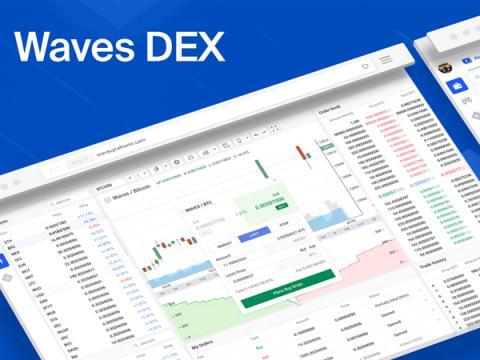Злоумышленники атаковали ресурс криптобиржи Waves DEX