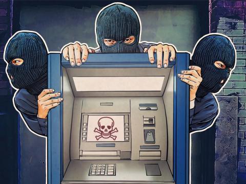 Взламывающие банкоматы злоумышленники пользуются помощью посредников