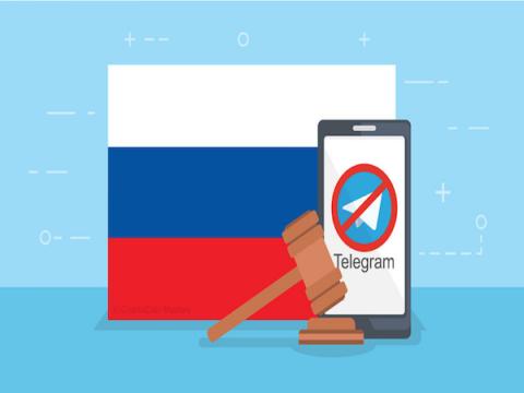 Мосгорсуд согласился с решением о блокировке Telegram в России