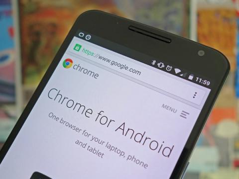 Google Chrome для Android можно будет обновить прямо из приложения
