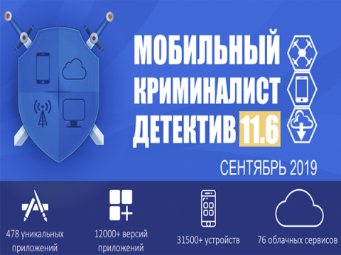 Мобильный Криминалист Детектив 11.6 может извлечь данные с сервера Viber