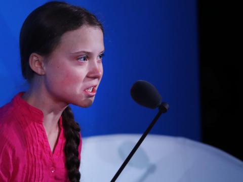 Троян Emotet использует тему активистки Греты Тунберг