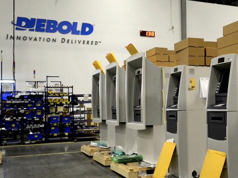 Крупнейший производитель банкоматов Diebold стал жертвой шифровальщика
