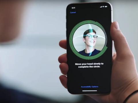 Apple может улучшить Face ID распознаванием рисунка вен