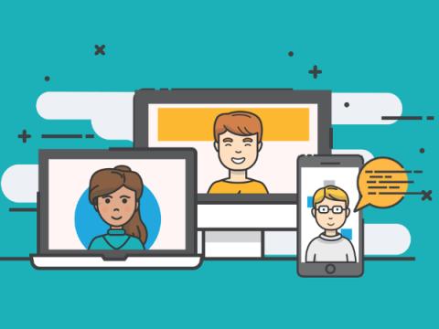 55% миллениалов чаще всего общаются с близкими через интернет