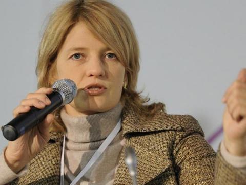 Касперская провела дискуссию в рамках Международного финансового форума