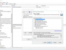 Настройка объекта политики в Active Roles для операций первичного создания учетной записи пользователя