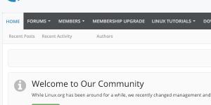 Неизвестные провели дефейс Linux.org, опубликовав непристойную картинку