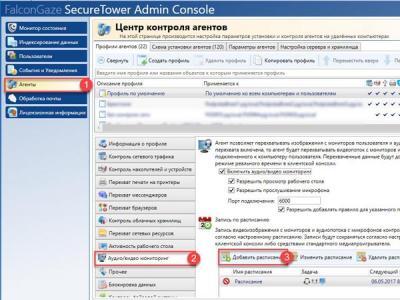 Обзор DLP-системы Falcongaze SecureTower 6.0