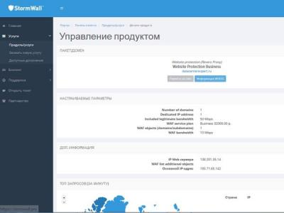 Обзор сервиса StormWall для защиты от DDoS-атак