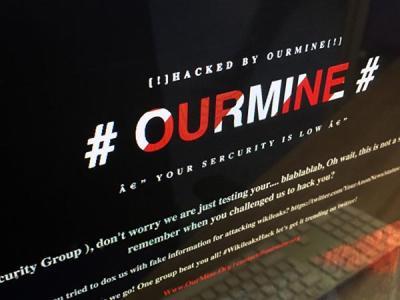 Хакеры OurMine оставили сообщение на главной странице сайта WikiLeaks