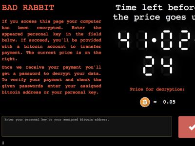 ЛК полагает, что зашифрованные BadRabbit данные можно восстановить