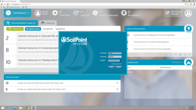 Обзор SailPoint SecurityIQ