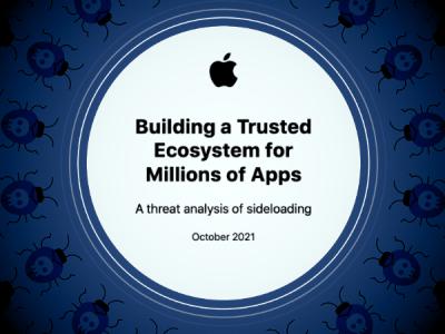 Apple пытается объяснить минусы sideloading на примере Android