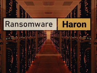 Шифровальщик Haron: по коду — Thanos, по веб-дизайну — Avaddon