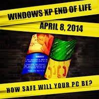 Риски для корпоративных клиентов, связанные с прекращением поддержки Windows XP