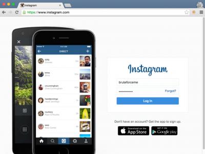 Исследователь обнаружил, что Instagram уязвим перед обычным брутфорсом