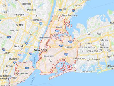 Хакеры переименовали Нью-Йорк в Jewtropolis