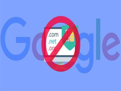 """Google """"упал"""" на территории России"""