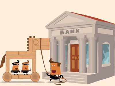 Вредоносная рассылка по банкам использовала адреса госучреждений