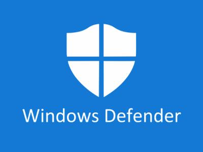 Антивирусное сканирование Windows Defender пропускает файлы в Windows 10