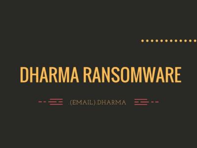 Исходный код вымогателя Dharma продаётся на российских форумах за $2000