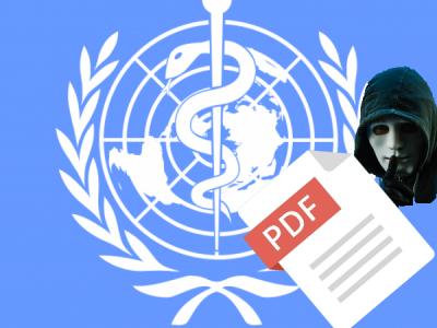 Хакер смог загрузить PDF-файлы на официальные сайты ВОЗ и ЮНЕСКО