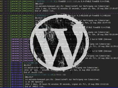 WordFence нашла ботнет из Wordpress-сайтов