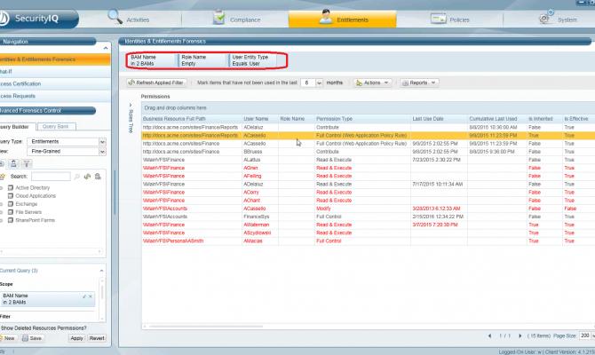 Контроль доступа к контролируемым данным в SailPoint SecurityIQ