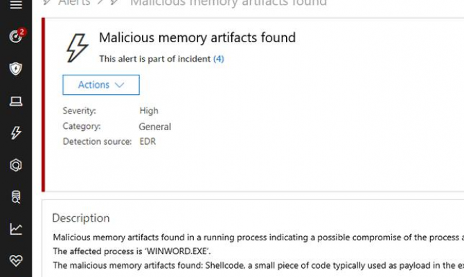 Центр безопасности Microsoft Defender Advanced Threat Protection