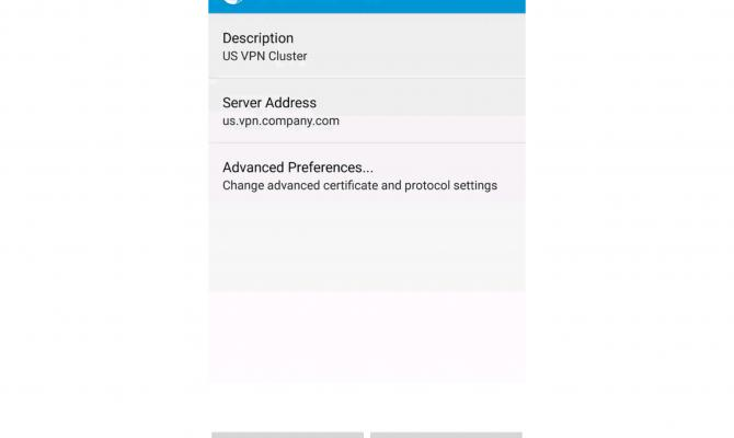 Cisco AnyConnect. VPN для android.