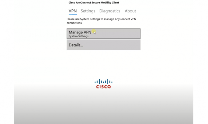 Cisco AnyConnect. VPN для windows.