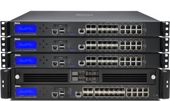 Dell SonicWall SuperMassive. Внешний вид.
