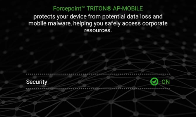 Мобильный агент в Forcepoint  DLP