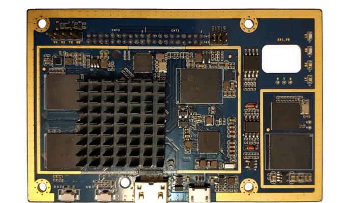 Специализированный микрокомпьютер с аппаратной защитой данных m-TrusT