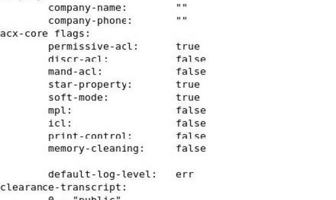 Создание файла конфигурации комплекса, вывод созданного файла конфигурации Аккорд-X, включение дискреционной политики разграничения доступа
