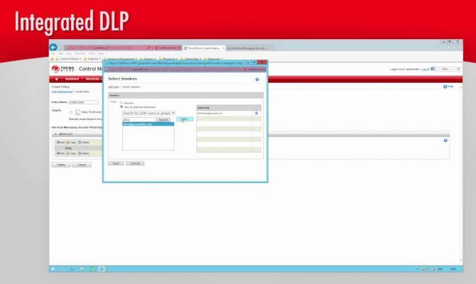 Фильтрация инцидентов в Trend Micro DLP