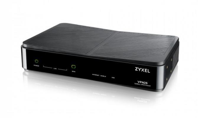 Zyxel VPN 2S. Внешний вид