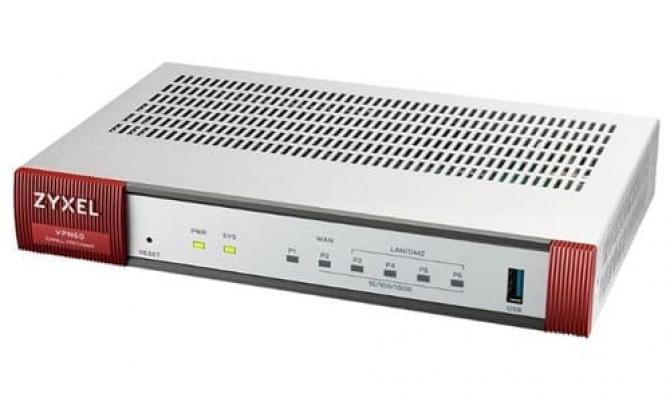 Zyxel VPN 50. Внешний вид